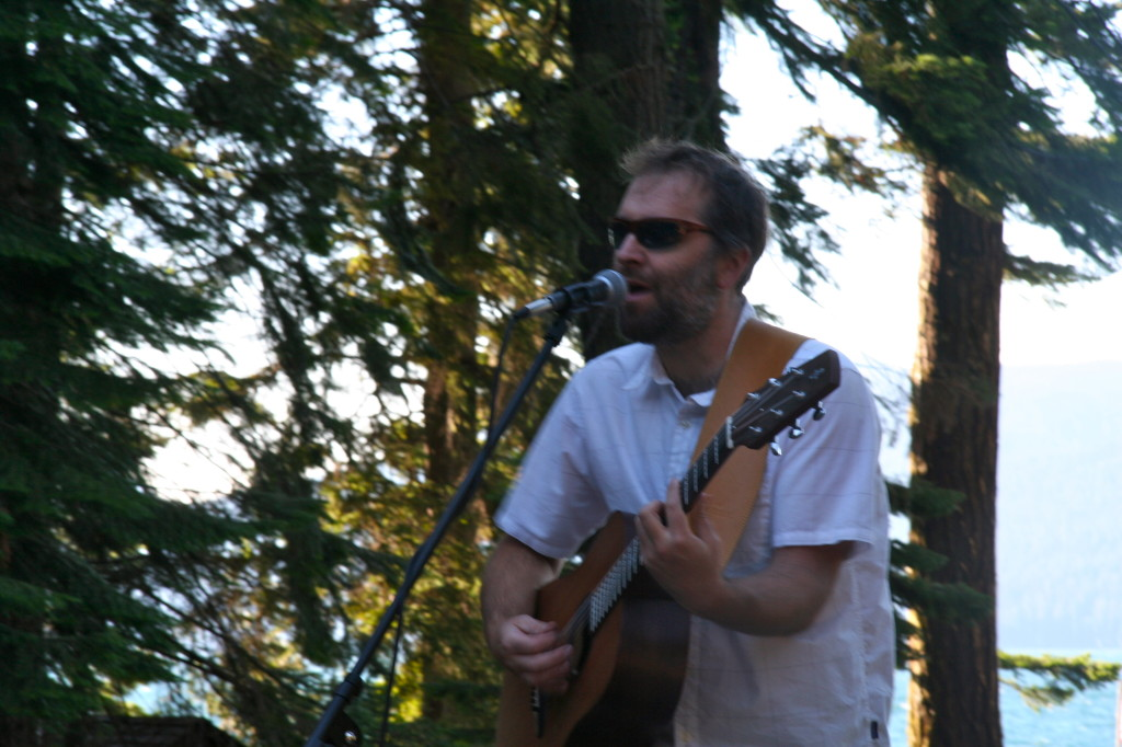 sunglasses, elk lake, music at elk lake, folk music in oregon, organic music farm